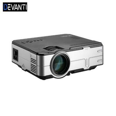 AU130.05 • Buy Devanti Mini Video Projector Portable HDMI USB VGA Home Theater HD 1080P
