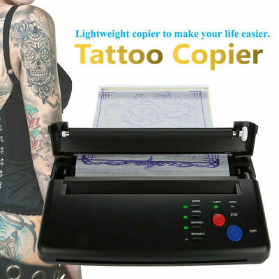 £116.27 • Buy 1 Tattoo Stencil Maker Transfer Printer Thermal Copier Printing Machine Supplies