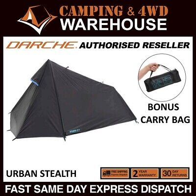 AU79.99 • Buy DARCHE URBAN Stealth LT-1 COMPACT & LIGHTWEIGHT ONE-MAN TENT