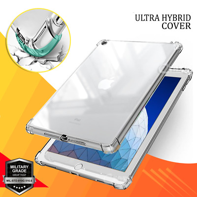 AU14.99 • Buy For Apple IPad 7th 6th 5th Gen Air 1 2 3 Clear Case Heavy Duty Shockproof Cover