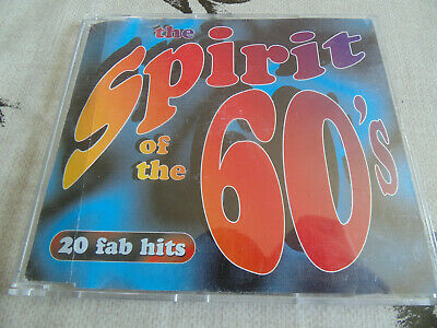 TIME LIFE CD SPIRIT OF THE 60s 20 FAB HITS • 75£