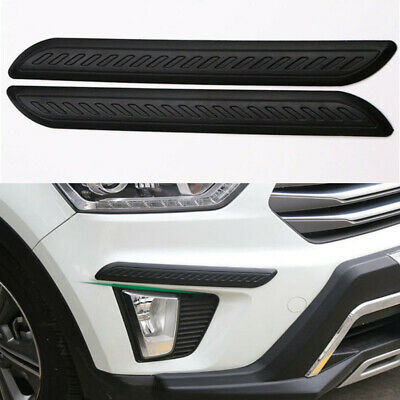 $22.89 • Buy Car Parts Carbon Fiber Wrap Corner Bumper Guard Anti-rub Protector Accessories