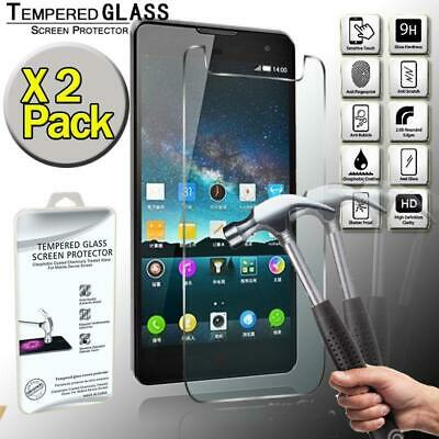 AU6.99 • Buy 2 Pack Tempered Glass Film Screen Protector Cover For ZTE Nubia Z7 Max