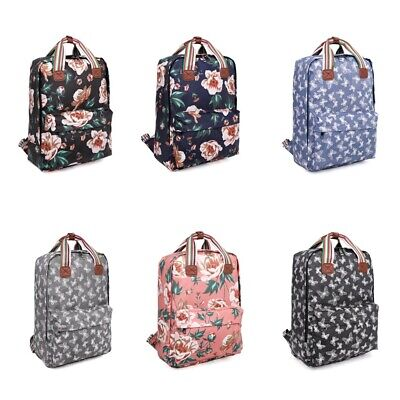 £16.99 • Buy Shoulder Bags For Girls And Woman, (school, Work), Oilcloth Bag/Backpack  Travel
