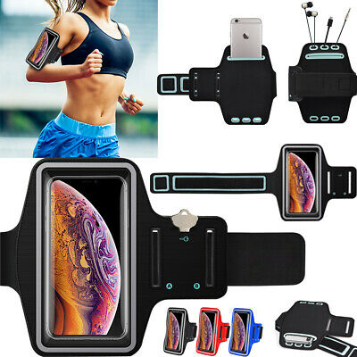 Armband Case Sports Gym Running Arm Band Phone For IPhone XS MAX XR / 6 7 8 Plus • 4.72£