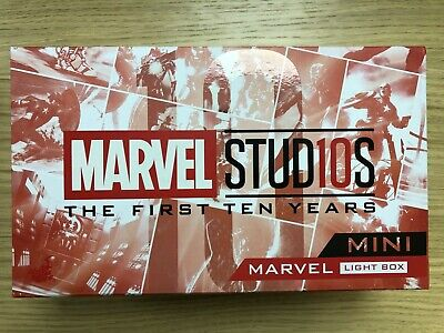 $ CDN172.18 • Buy Hot Toys Marvel Studios First 10 Years 10th Anniversary Mini Light Box Red