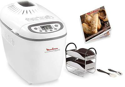 View Details Moulinex Home Baguette OW610110 - Breadmaker Of 1650 W 16 Programs Without • 322.81£