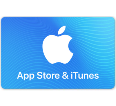 $25 • Buy App Store & ITunes Gift Cards - $25 $50 Or $100 (Email-Delivery)