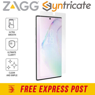 AU44.96 • Buy Samsung Galaxy Note 10 Plus/5G Zagg Invisibleshield Visionguard Screen Protector