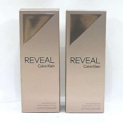 2 X Calvin Klein Reveal Body Lotion 200ml For Her *new & Boxed • 21.99£