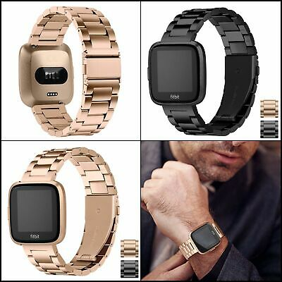 $ CDN35.56 • Buy Stainless Steel Band For Fitbit Versa / Lite / Special Edition,Bracelet Strap