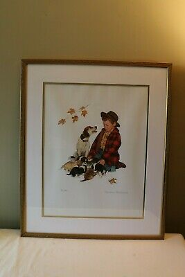 $ CDN751.92 • Buy Norman Rockwell Pride Of Parenthood Numbered Lithograph Framed Behind Glass