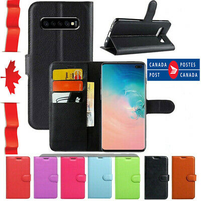 $ CDN8.99 • Buy For Samsung Galaxy S8 S9 S10 Plus Note 8 9 Wallet Leather Shockproof Case Cover