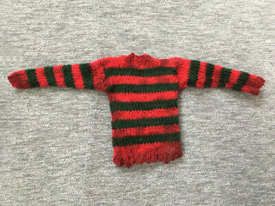 Freddy Krueger Custom 1/6 Weathered Sweater (With Stripes On The Sleeves) • 27.03£