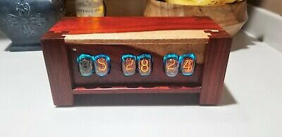 Paduk In 12 Nixie Tube Clock- Made To Order Wifi Enabled • 235.17£