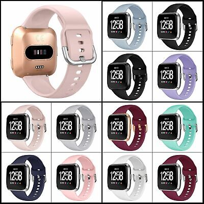 $ CDN14.36 • Buy Band For Fitbit Versa Lite & Special Edition,Soft Silicone Strap Sport Wristband