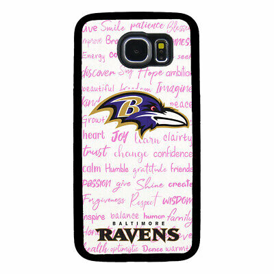 $ CDN18.31 • Buy Baltimore Ravens Phone Case For Samsung Galaxy S5 S6 S7 S8 S9 S10 Plus Edge Note