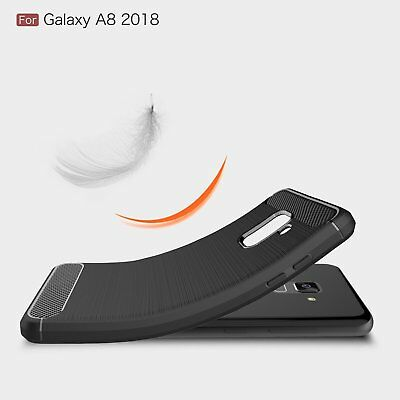$ CDN6.25 • Buy Carbon Fiber Heavy Duty Shockproof Case Cover For Samsung Galaxy S8 S9 S10 Plus
