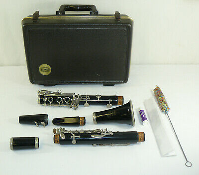$70.99 • Buy Selmer Bundy Resonite Clarinet Model 577 W/ Mouth Piece & Original Hard Case USA