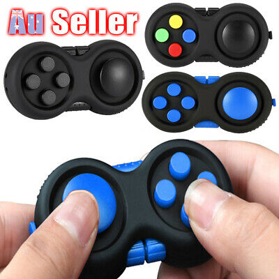 AU8.45 • Buy Fidget Pad For Finger Toys Cube Time Killing Children ADHD/Anxiety Toy GC