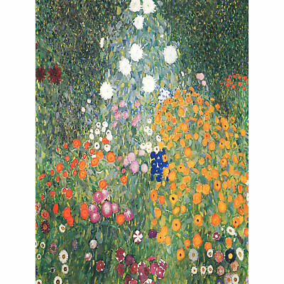 $ CDN23.34 • Buy Klimt Flower Garden 1907 Large Wall Art Print 18X24 In