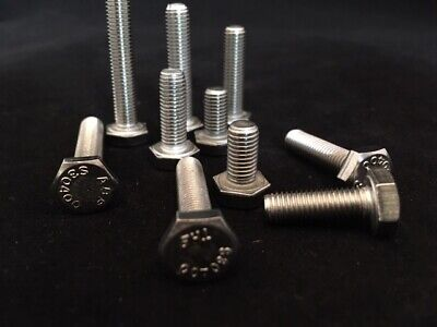 £4.15 • Buy Unf Set Screws A2 Stainless Steel Fully Threaded Bolts 3/16 1/4 5/16 3/8 1/2