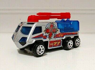 $5.24 • Buy Loose Matchbox 2000 Airport Fire Pumper #71 Silver Blue Diecast