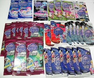 My Little Pony Ccg Card Game Booster Packs Lot Of (30) Random Series As Pictured • 42.42£
