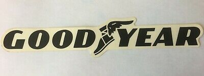 Vintage Goodyear  good Year Tire Sticker Drag Racing Decal Car Grand Prix Vinyl • 3.50$