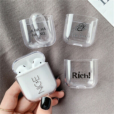 $ CDN2.48 • Buy Clear TPU Case Cover For Apple Airpods Air Pod Earpods Accessories Transparent
