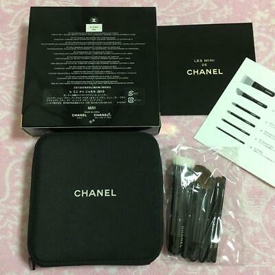 £127.79 • Buy CHANEL Les Mini De Chanel Set Makeup Brushes Bag Pouch Holiday Novelty 2013 Coco