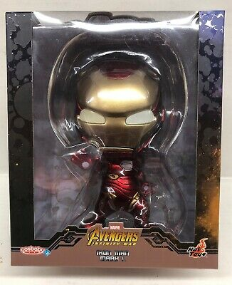 $ CDN55.54 • Buy Hot Toys Cosbaby  Marvel Avengers Iron Man Mark L Cosb504
