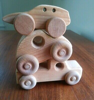 Handmade Wooden Toys Car