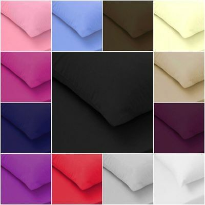 £8.95 • Buy 200TC 100% Egyptian Cotton Fitted Sheet Flat Sheet Single Double King S King