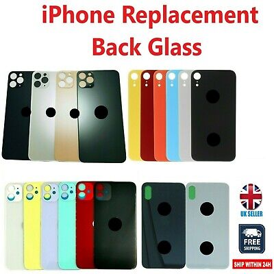 £8.99 • Buy IPhone Rear Glass Battery Back Cover Replacement  8 X XR XS 11 Pro Max BIG HOLE
