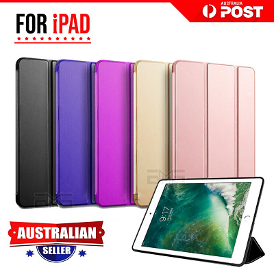 AU12.94 • Buy For Apple IPad 7th 6th 5th Gen Air 1 2 Leather Shockproof Flip Smart Case Cover