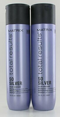 £17.41 • Buy Matrix Total Results So Silver Color Obsessed Shampoo 10.1 Oz -  Pack Of 2
