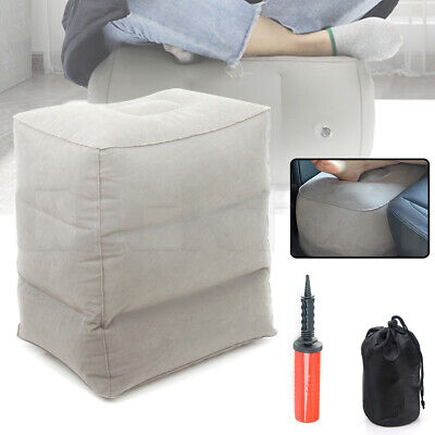AU10.99 • Buy Inflatable Foot Rest Travel Air Pillow Cushion Office Home Leg Footrest Relax