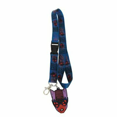 $9.95 • Buy Catwoman Lanyard Keychain With ID Holder And Rubber Charm Batman