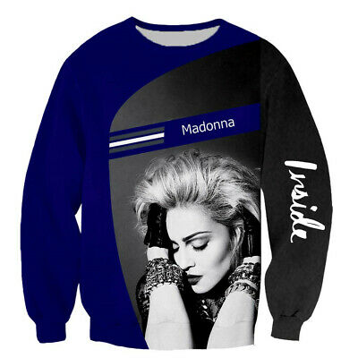$ CDN21.45 • Buy Popular Star Madonna  3D Print Casual Sweatshirt Mens Women Hoodie Pullover Tops