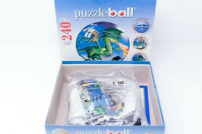 $28 • Buy Ravensburger Green Dragon 3D Jigsaw Puzzle Ball 240 PC World Globe W/ Stand