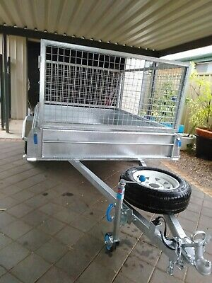 AU1850 • Buy Trailer 7x5 With Cage