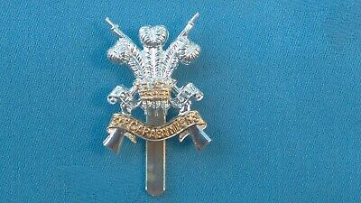 Staybright/Anodised.The 3rd Dragoon Guards Cap Badge. • 12£