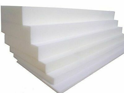 CUT TO SIZE HIGH DENSITY FOAM - Replacement Sofa Cushions, Seat Pads Custom Size • 7.60£