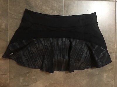 "$ CDN65 • Buy Lululemon ""Ace"" Yoga Skirt (size 10-12, No Dot)"