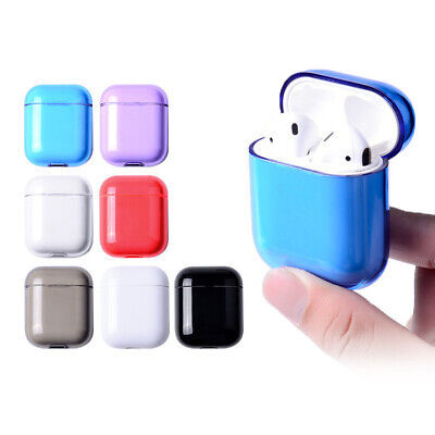 $ CDN1.37 • Buy For Apple AirPods Charging Case Clear Crystal Case Bag Hard PC AirPod Cover Skin