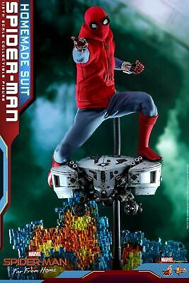 $ CDN393.46 • Buy Hot Toys 1/6 Scale Spider-Man (Homemade Suit Version) Collectible Figure MMS552