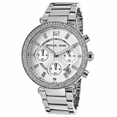 £71.98 • Buy Michael Kors Luxury MK5353 Parker Crystal Silver Chronograph Analogue Watch
