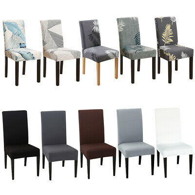 AU26.99 • Buy Stretch Chair Cover Seat Covers Spandex Lycra Washable Banquet Wedding Party NEW