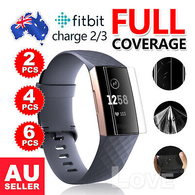AU3.35 • Buy For Fitbit Charge 3/Charge 2 Compact TPU Hardness LCD Screen Protector Real Film